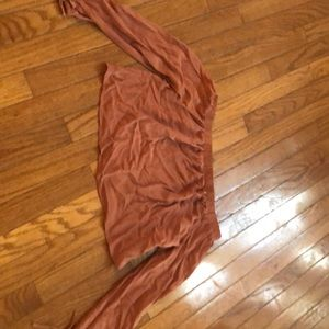 Kendall and Kylie off shoulder crop top